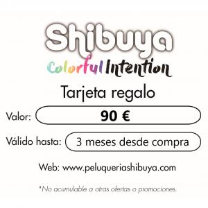 tarjeta regalo shibuya
